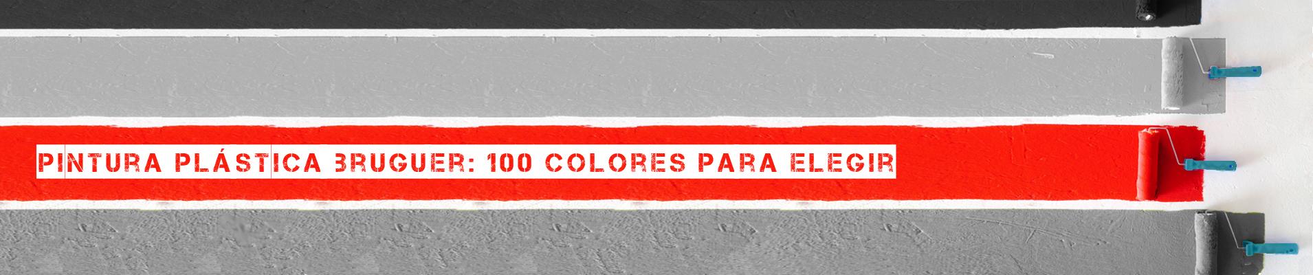Pinturas de interior Bruguer en más de 100 colores